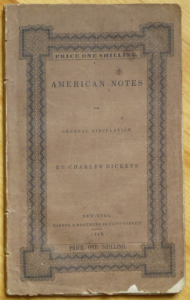 Book cover of American Notes by Charles Dickens