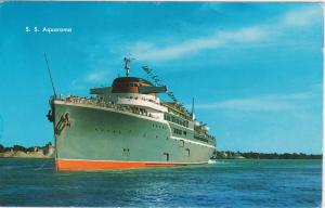 Blue/Green passenger vessel - Aquarama