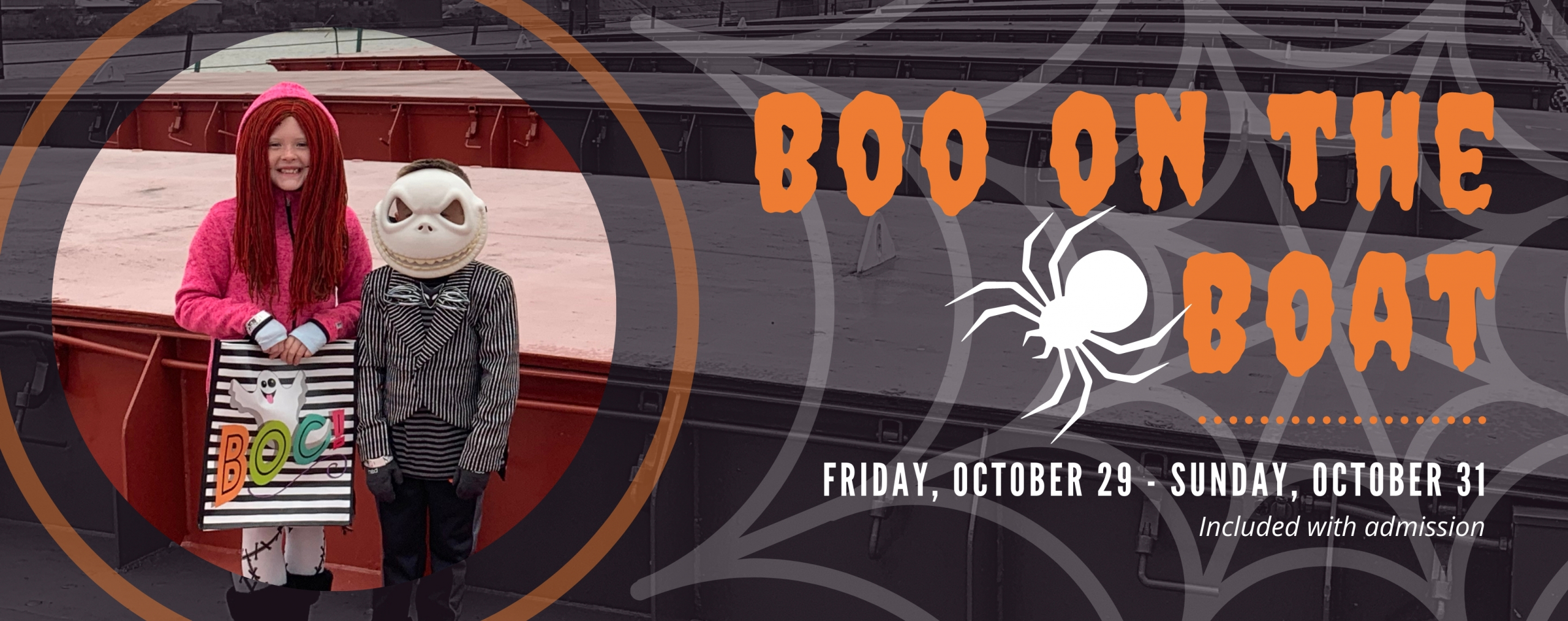 Boo on the Boat. October 29 to October 31